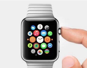 图为Apple发表之Apple Watch产品