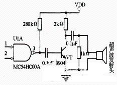 c5323 超声波测距电子电路设计详解