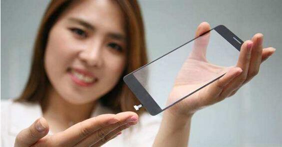 LG作做到了触控屏幕内嵌指纹传感器