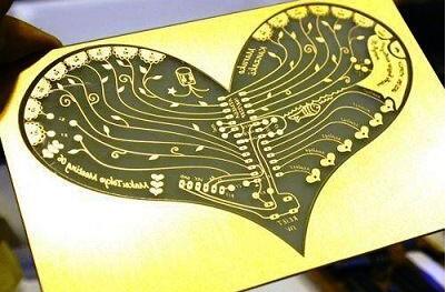 你的核心电路板就是可以看起来像颗心!