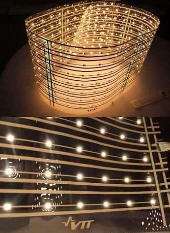 VTT展示结合LED与塑胶之技术